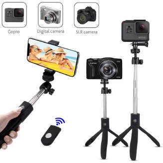 Private model K05 Bluetooth selfie stick tripod integrated remote control mobile phone universal multifunction G0PR0 live broadcast artifact RB1209 K05