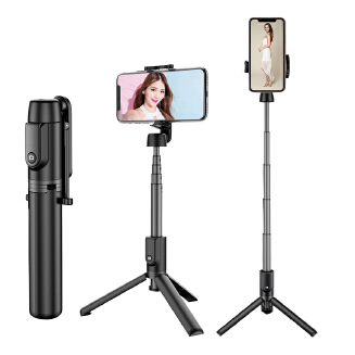 Best selling magic shadow 402 aluminum alloy remote control selfie stick mini selfie stick multifunctional live broadcast artifact RB1209 402