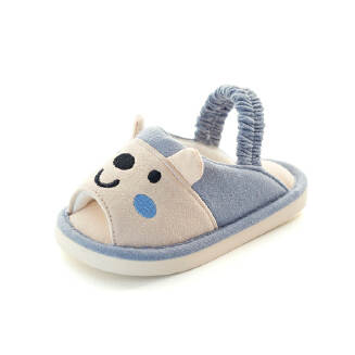 Baby slippers toddler shoes soft bottom baby shoes JX0510 HC-6066