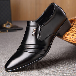 Business casual breathable leather shoes male JX0514 5825 EID Shoes