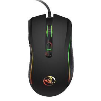 A869 USB Wired Colorful Gaming Mouse 3200DPI 7 Buttons Optical Mouse Mice for PC Laptop Computer