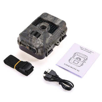 Waterproof 1080P 16MP Camera Trail Scouting IR Night Vision Wildlife Camera