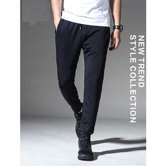 High quality sports pants men's summer ice silk breathable pants ultra-thin men's quick-drying casual pants JA1201 LC9083-1