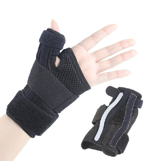 Sport Wrist Thumb Support Hand Brace Wrist Guard Support Protector Finger Stabiliser Pain Relief Wrist Wrap Protection