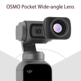 Mini Portable Wide-angle Camera Lens for DJI OSMO Pocket Handheld Gimbal Magnetic Wide Angel Camera Lens Accessories
