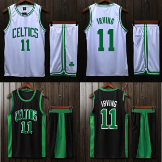 CELTICS NBA men's basketball uniform with a number set training suit JX0604 003