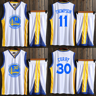 WARRIORS NBA men's basketball uniform with a number set training suit JX0604 004