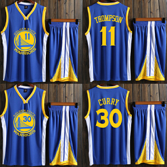 WARRIORS NBA men's basketball uniform with a number set training suit JX0604 005