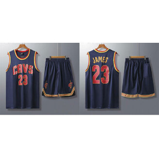 CAVS NBA men's basketball uniform with a number set training suit JX0604 007