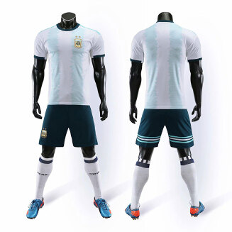 World Cup Club Football Suit Set France Juventus Real Madrid Messi C Luo Hengda JX0604 013