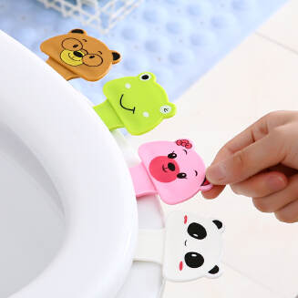 1pcs portable Toilet Seat Lifters convenient to Toilet lid device is mention Toilet potty ring handle JX1201 001