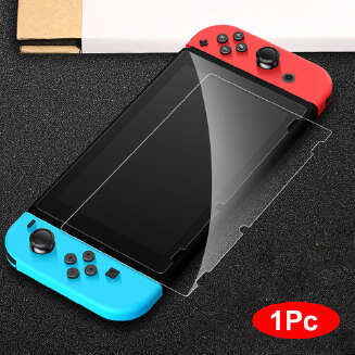 1/2/3 Pcs for Nintend Switch Premium 9H Tempered Glass Screen Protector Film Package:1 pc