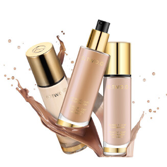 Clear and moisturizing oil control gold foundation MB0425 9983