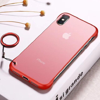 Apple iPhone X Frameless Back Cover Without Ring - Priyomama