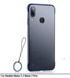 Xiaomi Note 7/ 7 pro Luxury Frameless Transparent Case Back Cover without ring - Priyomama DS20 GD20