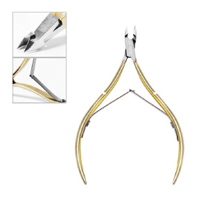 Nail clippers nail clippers nail clippers cut gold stainless steel nail tools MB0425 gj0114