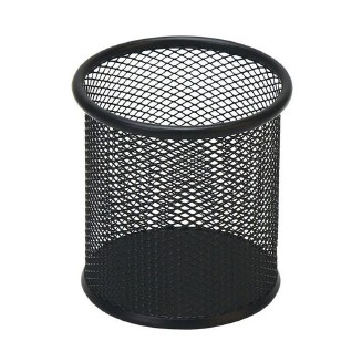 Office Stationery Iron Combination Pen Holder Black Mesh Pen Holders Office School Supplies Desk Accessories Organizer