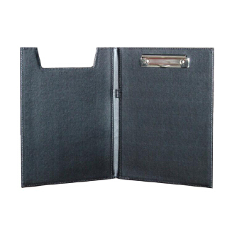 U Shape A4 Office School Supplies Notebooks Writing Pads Clipboard PU Leather Business Financial School Plastic With Pen Place