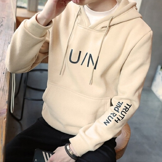 Fashion Casual Cap Long Sleeved Hooded 	Digital Printing Korean Version