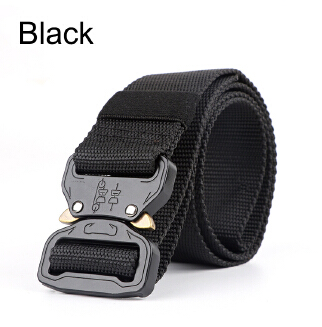 Special Forces Tactical Belt Men's Buckle Canvas Outdoor Belt Adjustment Training Nylon Multi-function Belt JX0618 008 MF20