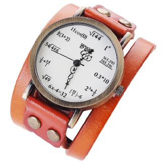 Fashion CCQ Fashion Simple Figures Casual Analog Quartz Bracelet Watch