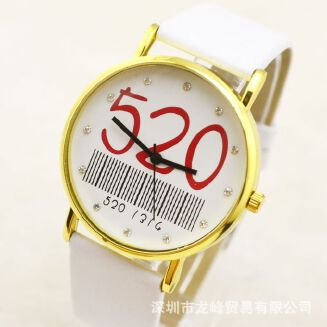 Fashion Women's Watches Men's Women's Watcheses Simple 520 Surface