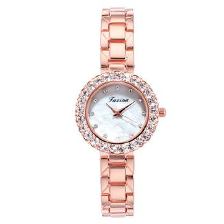 Fashion Women's Watch Diamond Quartz Watch Pink