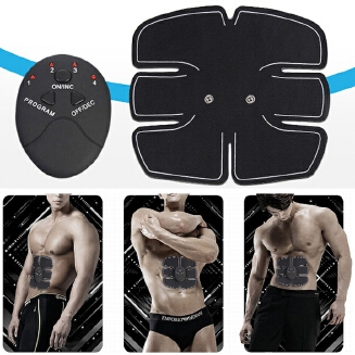 Electric Muscle Training Machine Fitness Gym Equipment Abdominal Muscle Trainer Body Slimming Tools