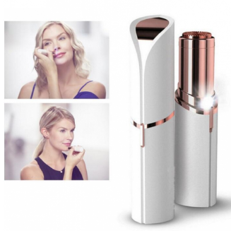 Electric Painless Lipstick Epilator Shaver Lady Hair Remover Mini Hair Removal For Women Body Face