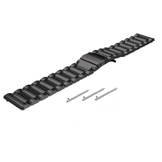 22mm Stainless Steel Bracelet Strap for Samsung Gear S3 Frontier / S3 Classic Watch Band
