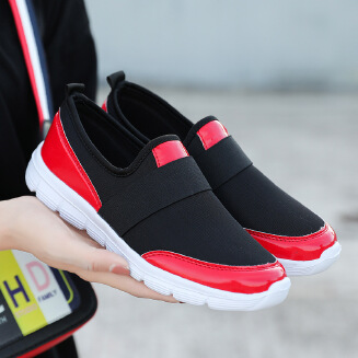 Korean version of a pedal cotton casual shoes outdoor walking shoes breathable women's shoes
