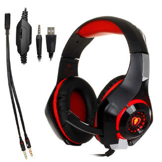 3.5mm Gaming Earphone Gaming Headset Xbox One Headset with Microphone for PC PS4 Laptop Phone