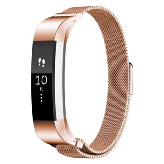 Magnetic Stainless Steel Watch Band Strap for Fitbit Alta/Alta HR