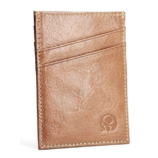 Goodwinfashion Men Wallet Genuine Leather Thin Slim Short Clutch Bag Solid Color Multi-card Slots Credit Card Holder Casual Male Coin Purse