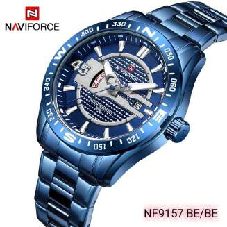 NAVIFORCE NF9157 - Stainless Steel Analog Watch for Men - Zarifenterprise