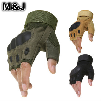 Outdoor Motorcycle Hard Knuckle Gloves Motorbike Motocross Military Tactical Cycling Gloves