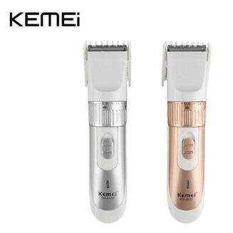 Rechargeable Hair Clipper And Trimmer Km 9020 - Gold and White - Desibazaar db2020