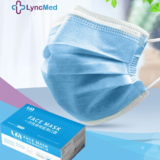 Lyncmed 50 PCS Disposable mask 3-Layer medical protection face mask