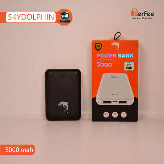 POWER BANK | 5000 mAh | First Charge  - DOLPHIN - DOFIN- SKYDOLPHIN BIG11 HS19 DS20 GD20