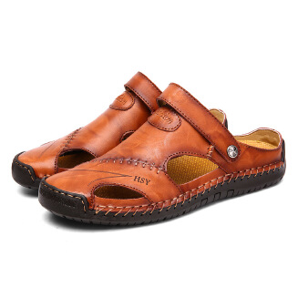 Men's Outdoor Beach Sandals Summer Breathable British Casual Shoes