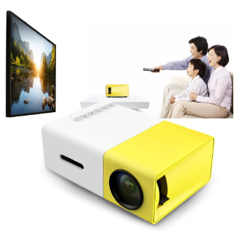 MJlife LED Projector HD1080p Mini Projector YG-300 HDMI USB Mini Projector Home Media Player Home Theater