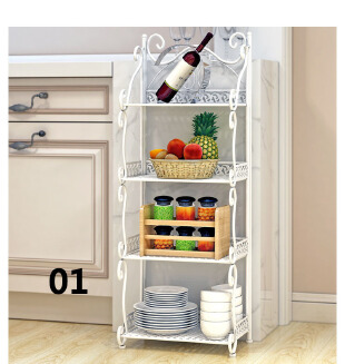 Multilayer iron simple storage rack JX1201