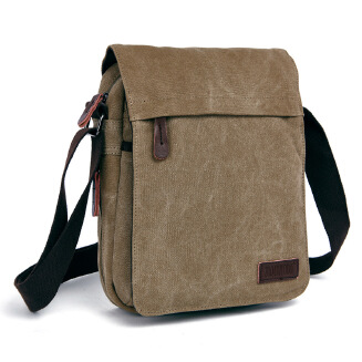Men's casual Korean shoulder bag messenger canvas bag tide bag