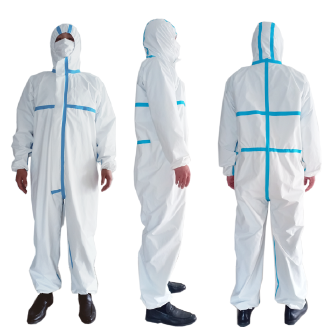 Chemical Disposable Protective Coverall Protective Clothing virus Protective Suit PPE3