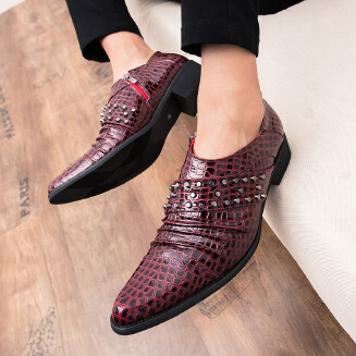 Men's casual leather shoes work shoes business shoes