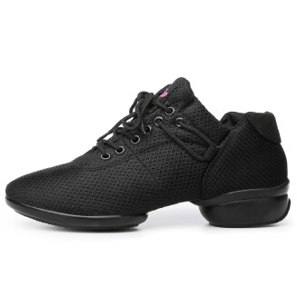 Mesh dance shoes modern square dance shoes casual running shoes