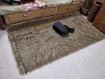 Artificial fur rugs or matt to decorate homes - Divaloncouture -ls20