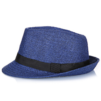 Middle-aged and old men's linen breathable refreshing top hat JX0621 12