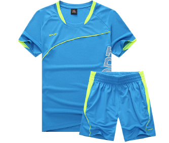 Men's thin sports suit quick-drying t-shirt shorts two-piece running fitness clothes