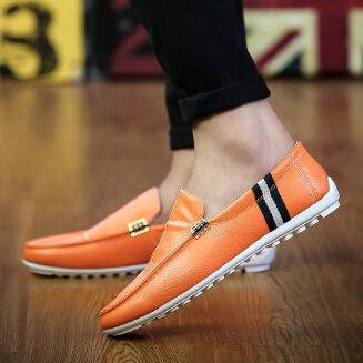 New casual Doudou men's shoes color Joker men's shoes driving shallow shoes JX0425 622